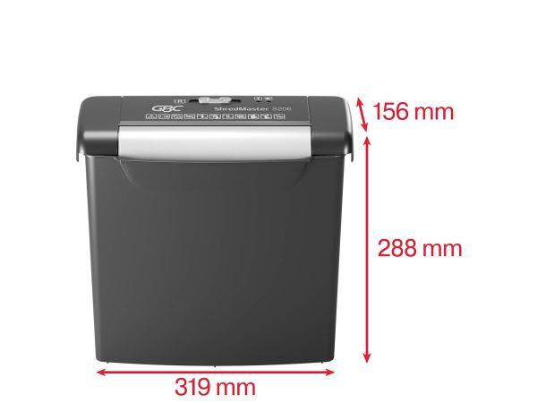 Máy Hủy Giấy GBC ShredMaster S206 - Hình 5