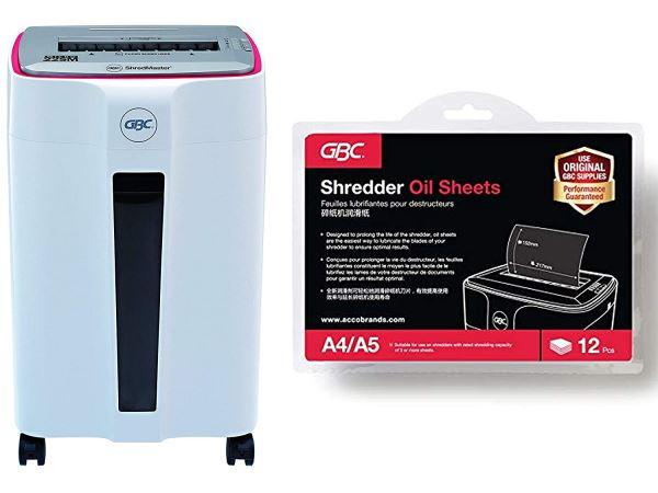 Máy hủy giấy GBC ShredMaster 22SM (Hủy siêu vụn) - Hình 4