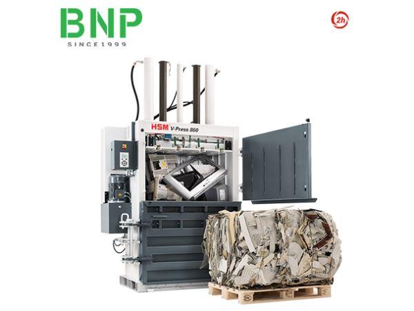 Máy Ép Phế Liệu HSM V Press 860 S - Hình 1