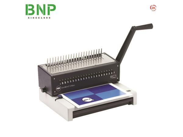 Máy đóng sách vòng xoắn nhựa 21 lỗ GBC C250pro - Hình 1
