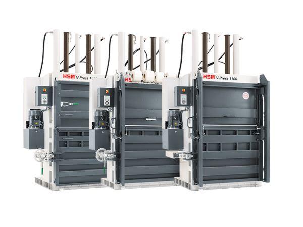 Máy Ép Phế Liệu HSM V Press 1160 Plus - Hình 4