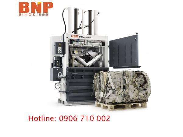 Máy Ép Phế Liệu HSM V Press 860 S - Hình 4
