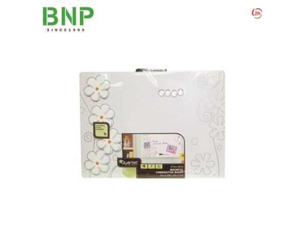 Bảng nam châm Quartet Home Foam Flower Tin Board 79220 - Hình 1