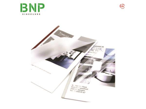 Bìa nhựa gáy keo trong & mờ UNICOVER FLEX (New 2018) - Hình 1