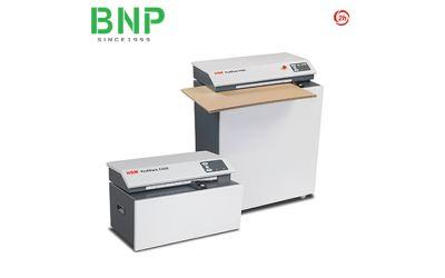 Máy cắt giấy carton tạo hình lót thùng chứa hàng HSM Profipack C400